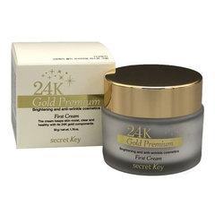 Secret Key 24K Gold Premium First Cream - Крем для лица питательный