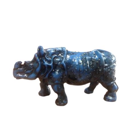 Фигурка Синий носорог мини