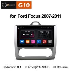 Штатная магнитола на Android 8.1 для Ford S-Max Ownice G10 S9201E-A