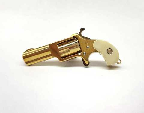 Miniature NAA revolver 2mm pinfire Gold