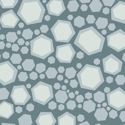 Серые шестиугольники