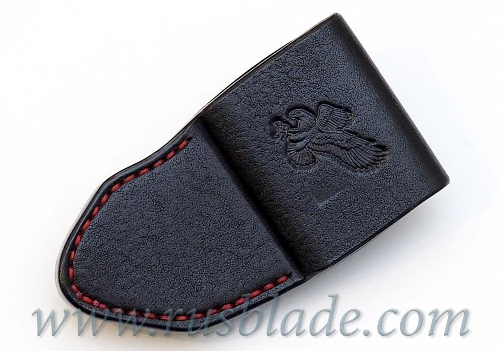 CUSTOM Handmade ZT 0095 Zero Tolerance 0095 Leather Sheath Black