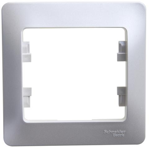 Рамка на 1 пост. Цвет Перламутр. Schneider Electric Glossa. GSL000601