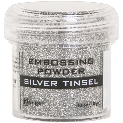 Пудра для эмбоссинга Ranger Ink- Silver tinsel