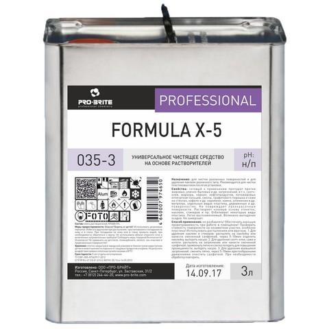 Чистящее средство универсальное Pro-Brite Formula X-5 3 л