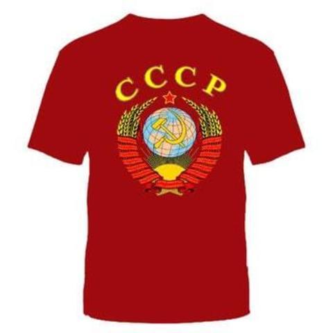 Футболка красная СССР