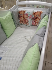 Комплект в прямоугольную кровать (120х60) 6 предметов
