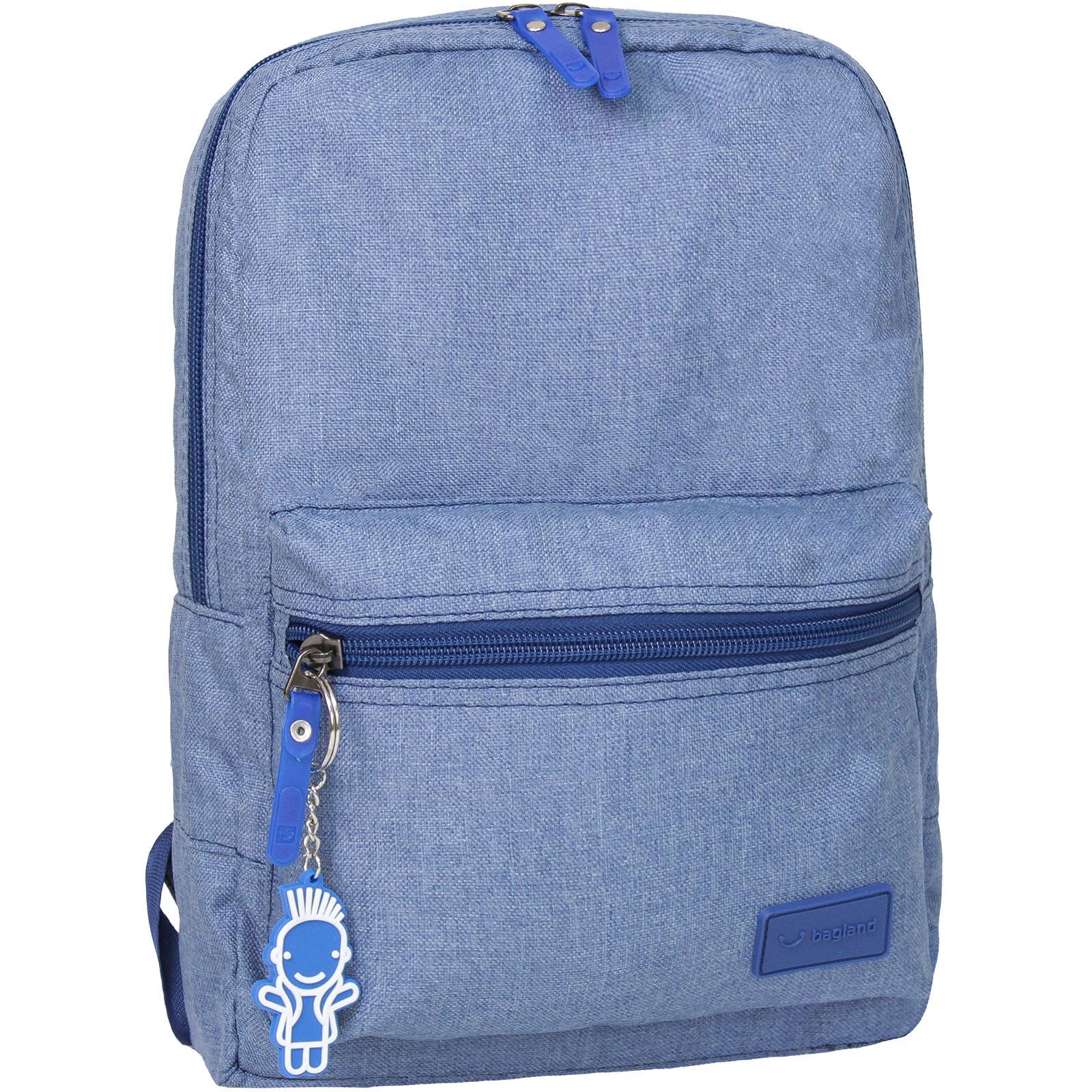 Детские рюкзаки Рюкзак Bagland Молодежный mini 8 л. Синий (0050869) IMG_8902-1600.jpg