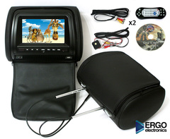 Комплект автомобильных подголовников Ergo ER700HD