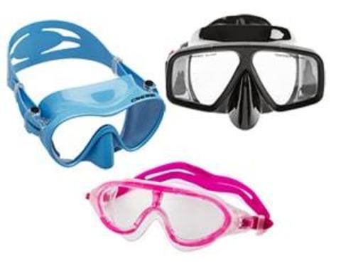 Купити маски для підводного плавання