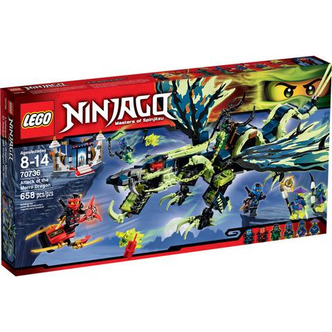 LEGO Ninjago: Атака Дракона Морро 70736 — Attack of the Morro Dragon — Лего Ниндзяго