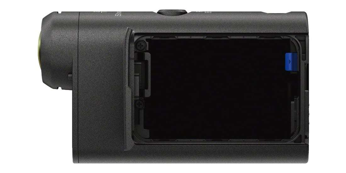 Экшн-камера Sony HDR-AS50R открыт отсек