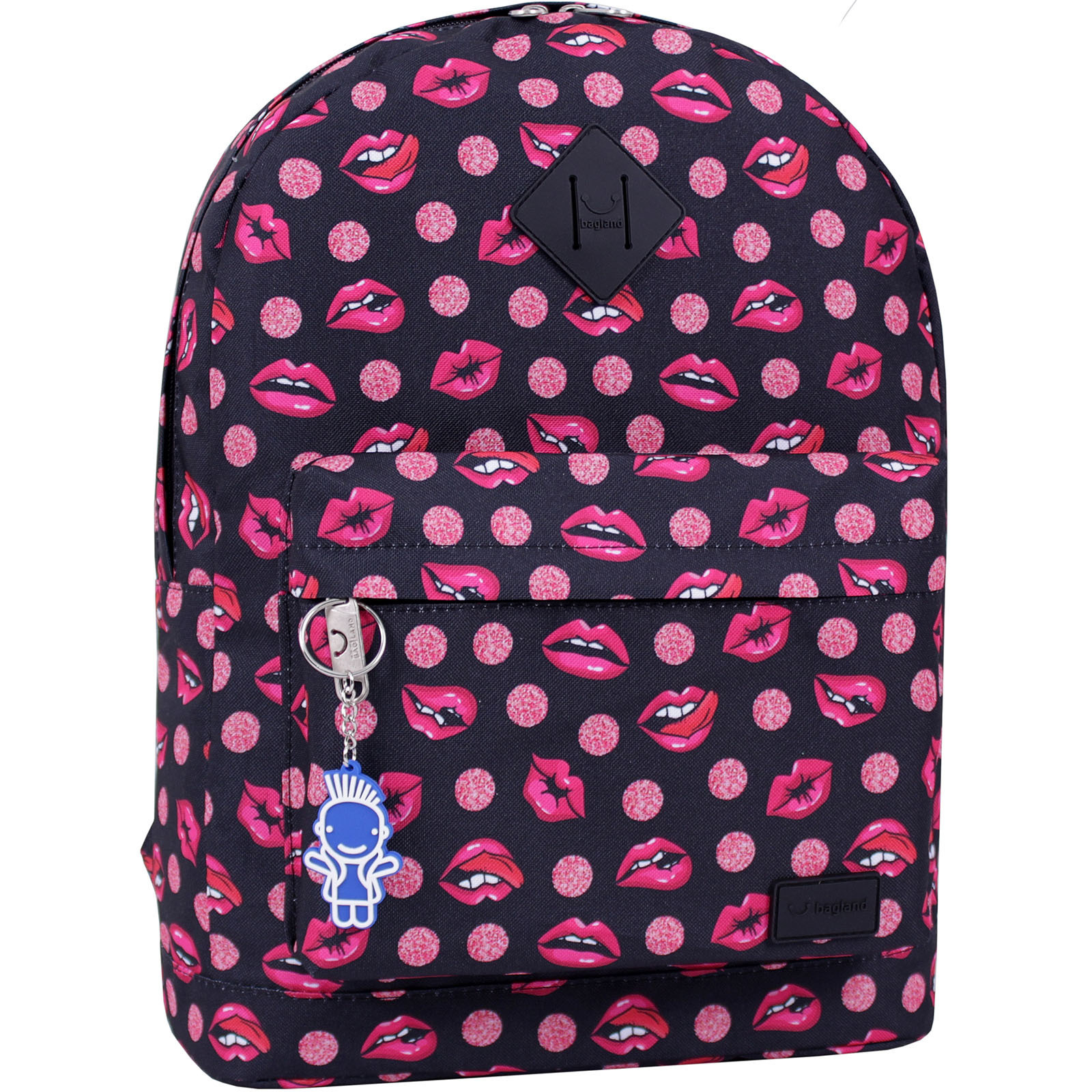 Молодежные рюкзаки Рюкзак Bagland Молодежный 17 л. сублимация 487 (00533664) IMG_9482_суб.487_.JPG
