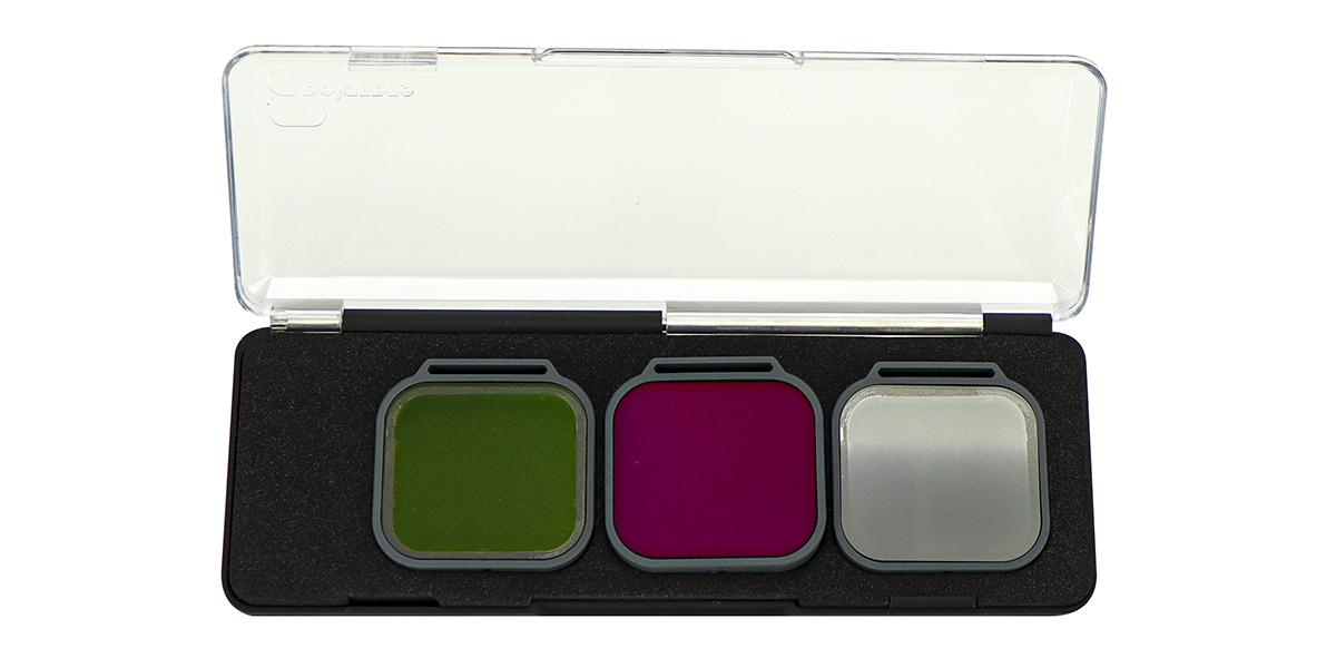 Набор фильтров PolarPro Venture 3-Pack HERO 5/6/7 Black в контейнере