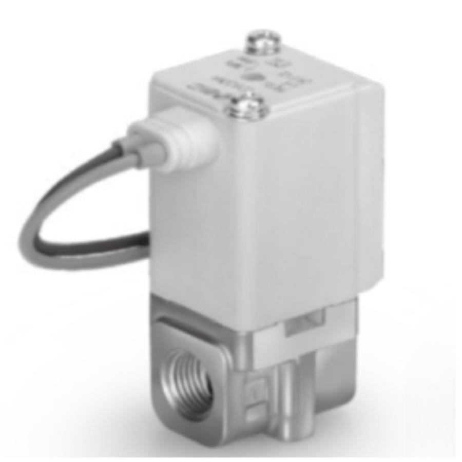 VDW24RA  2/2 Клапан Н.З., на вакуум, M5, 24VDC, нерж