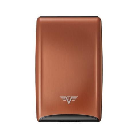 Визитница c защитой Tru Virtu Razor, кофейный , 104x68x20мм
