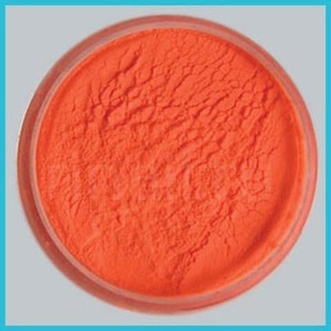 Цветная акриловая пудра Неоновая оранжевая