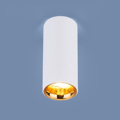 Накладной потолочный  светодиодный светильник DLR030 12W 4200K белый матовый/золото