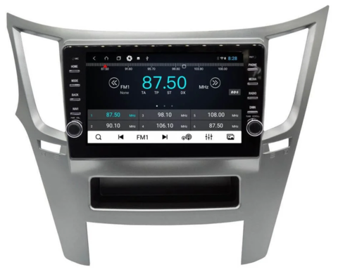 Штатная магнитола для Subaru Legacy/ Outback 2009-2014 Android 8.1 4/64GB IPS DSP 4G модель CB 3221T9KR