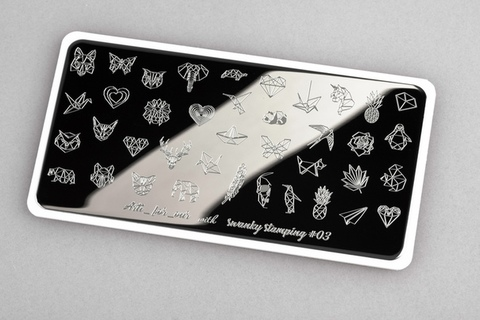 Пластина Swanky Stamping x Arti for you №03