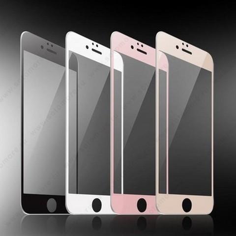 Стекло защитное SOTOMORE для Samsung Galaxy S6 Edge G925 - толщина 0.26 mm 2D в техупаковке переднее белый