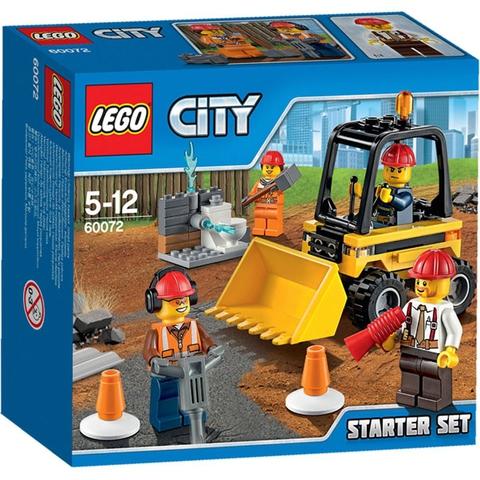 LEGO City: Набор Строительная команда для начинающих 60072 — Demolition Starter Set — Лего Сити Город