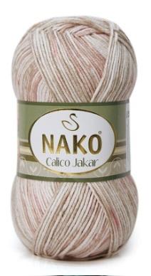 Пряжа Nako Calico Jakar арт. 31879