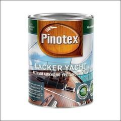 Лак полуматовый для яхт Pinotex Lacker Yacht (Прозрачный)