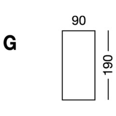 Elastic sheet / model G / beige