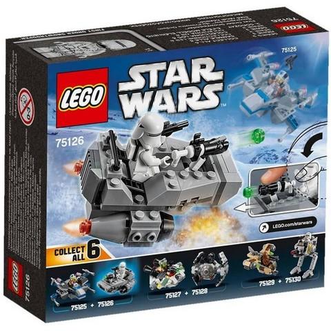 LEGO Star Wars: Снежный спидер Первого Ордена 75126 — First Order Snowspeeder Microfighter — Лего Звездные войны Стар Ворз