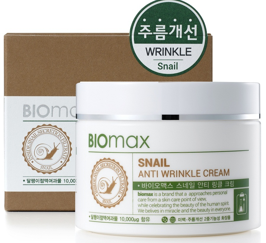 Крем против морщин с экстрактом улитки BIOmax