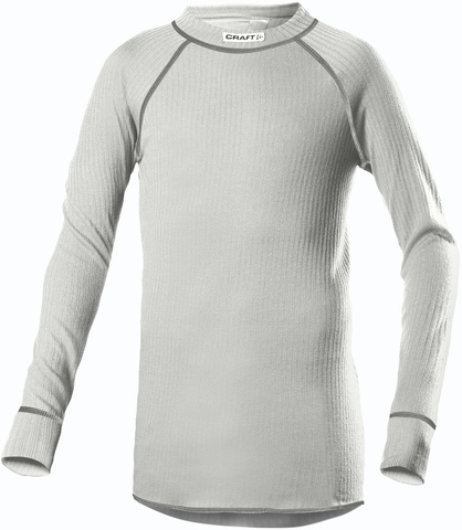 Термобельё Рубашка Craft Active детская серая