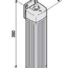 001F500 Привод 24В рычажный не блокирующийся с шарнирным рычагом передачи (серия FLEX) Came
