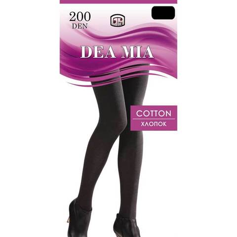 Колготки Cotton 200 XXL Dea Mia