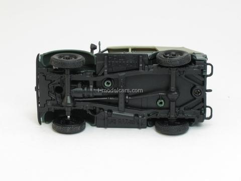 GAZ-69A with awning 1:43 Nash Avtoprom