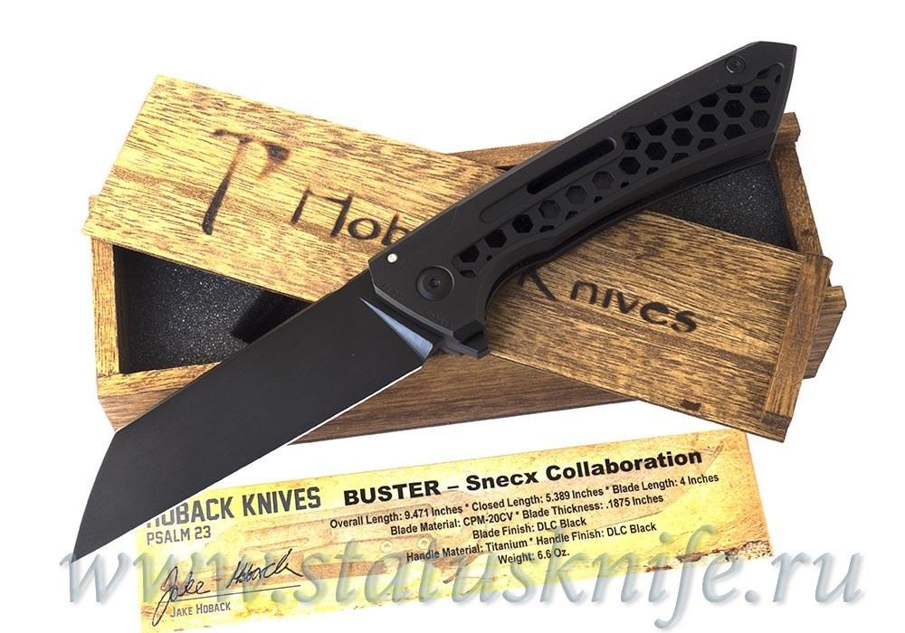 Нож Hoback/Snecx Collaboration Buster DLC Black