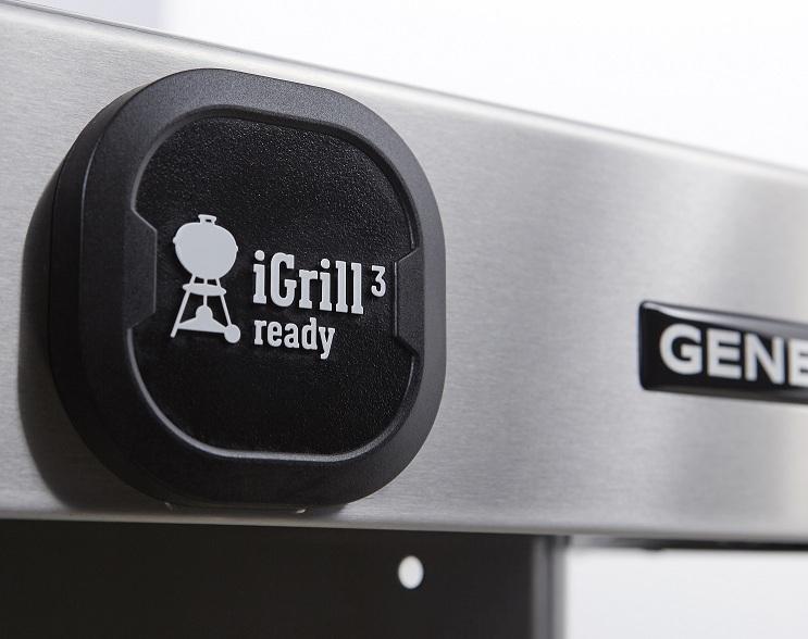 Гриль газовый GENESIS II  EP-335 GBS, черный.