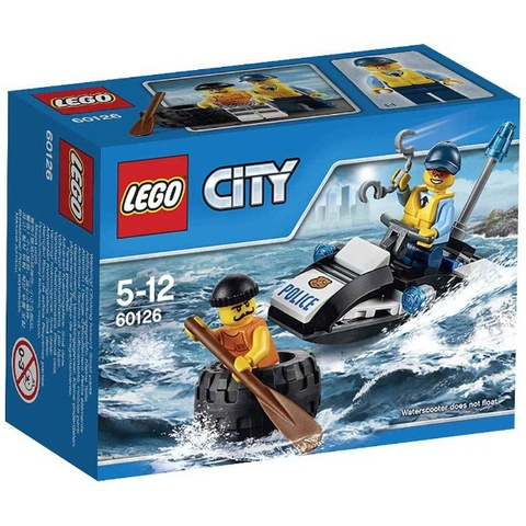 LEGO City: Побег в шине 60126 — Tire Escape — Лего Сити Город