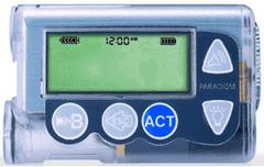 Инсулиновая помпа Медтроник МиниМед Парадигм  РЕАЛ-Тайм 722 (Medtronic MiniMed Paradigm® REAL-Time)