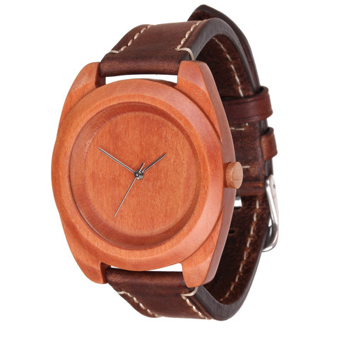 Часы из дерева AA Wooden Watches Айкон Груша