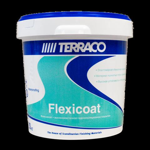 Terraco Flexicoat/Террако Флексикоат готовое к применению акриловое гидроизоляционное покрытие