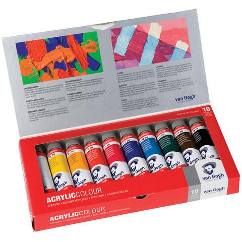 Набор акриловых красок Van Gogh