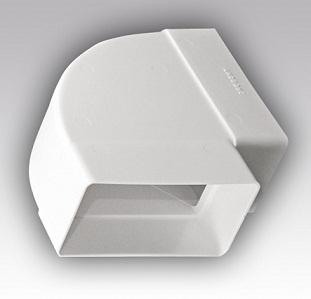204х60 мм. Прямоугольное сечение Колено горизонтальное 204х60 мм пластиковое 850fa50017cd6167a7b675ba06300aed.jpg