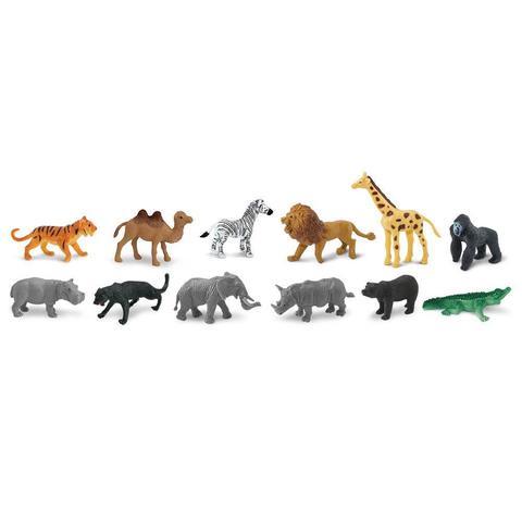 Набор фигурок Дикие животные, Safari Ltd.