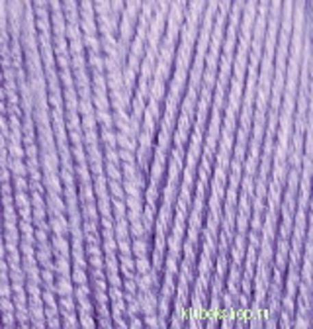 Пряжа Lanagold 800 (Alize) 166 Лиловый, фото
