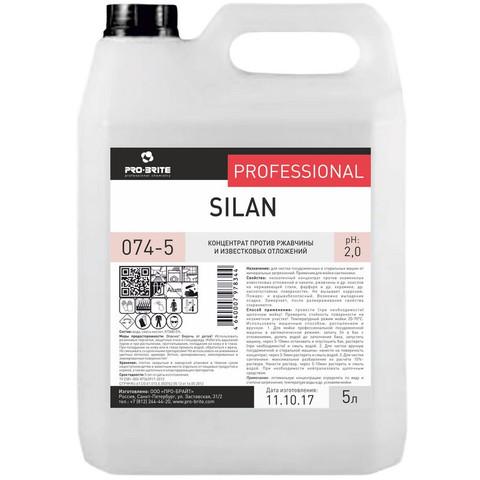 Средство против ржавчины и известковых отложений Pro-Brite Silan 5 л (концентрат)