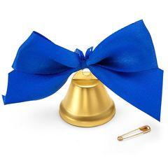 Набор колокольчиков для выпускника Синий бант
