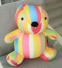 Подушка-игрушка антистресс «Мишка Мультифрукт» 5