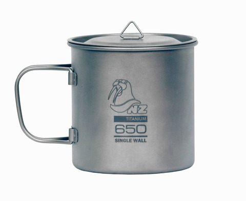 Кастрюля Novaya Zemlya Titanium Cup 0,65 л TM-650WL