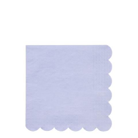Салфетки синие